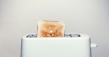 Der Toaster im Einsatz