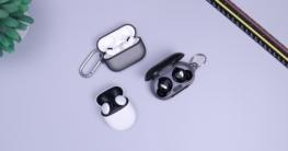 Die Bluetooth In ear Kopfhörer im Einsatz