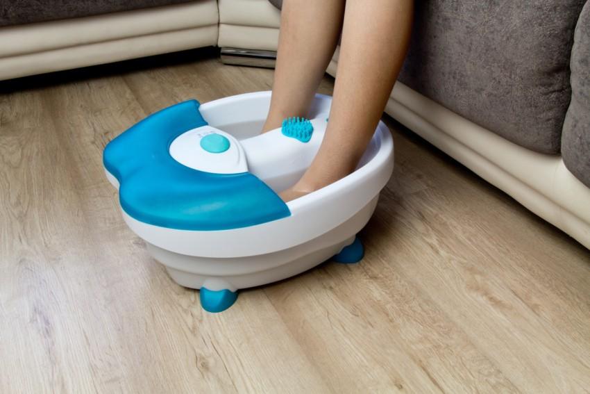 Das Fußmassagegerät im Test