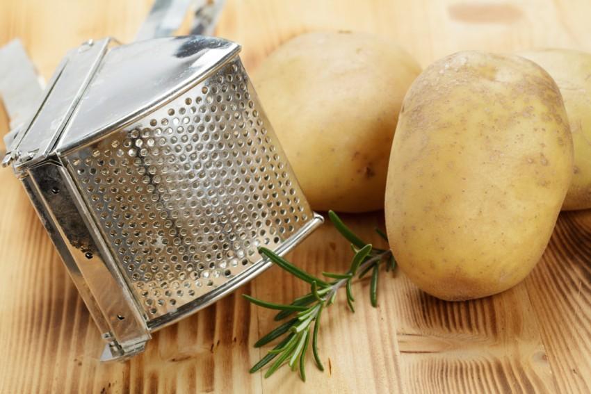 Die Kartoffelpresse aus Edelstahl