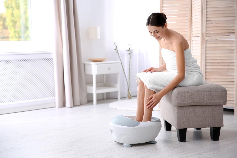Das Shiatsu Fußmassagegerät im Test