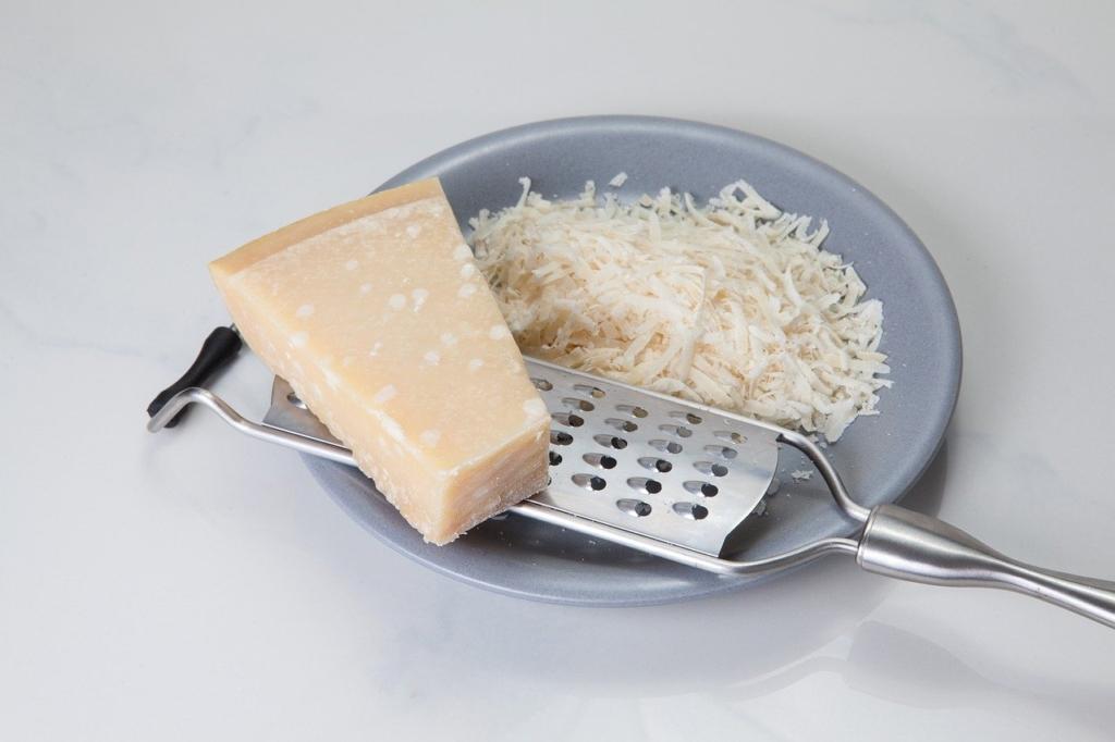 Die italienische Parmesanreibe im Test
