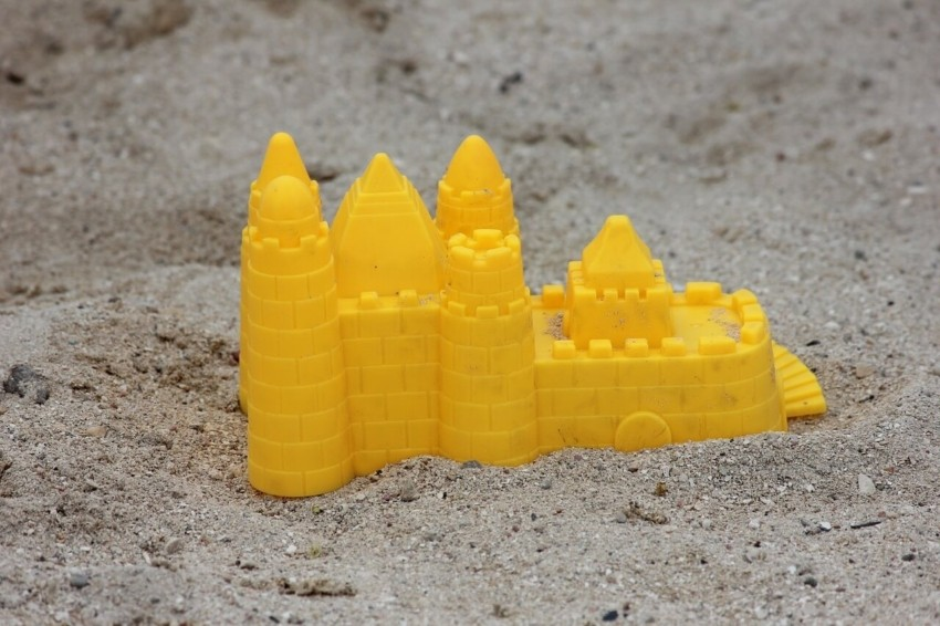Der beste Sandkasten mit Dach