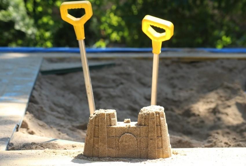 Der Sandkasten mit Dach Testsieger