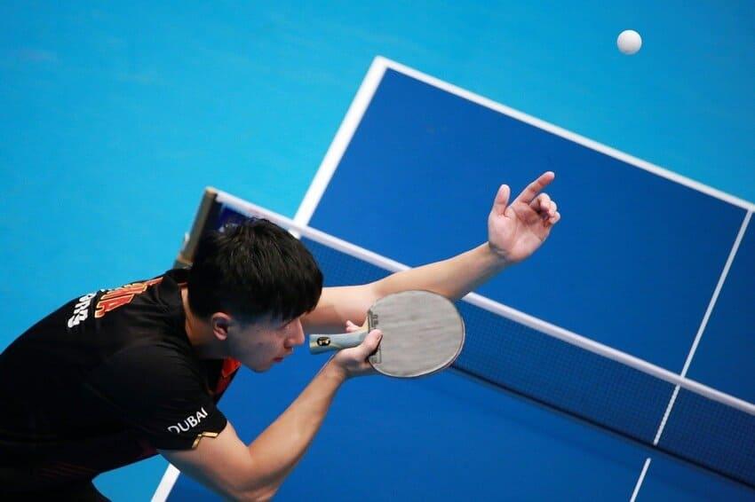 Profi mit dem besten Tischtennisschläger