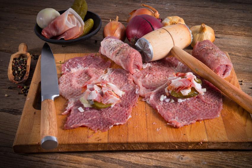 Ein WMF Fleischklopfer nach der Benutzung