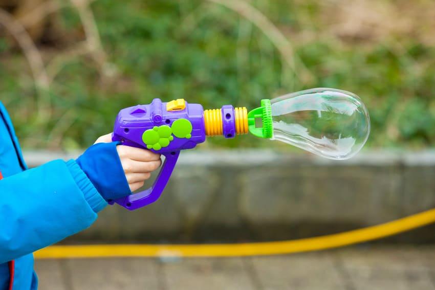 Die Seifenblasenpistole in der Übersicht