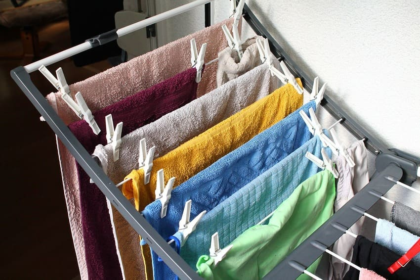 Ein Wäscheständer der stabil ist