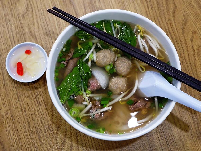 Eine Suppe aus dem Morphy Richards Suppenbereiter