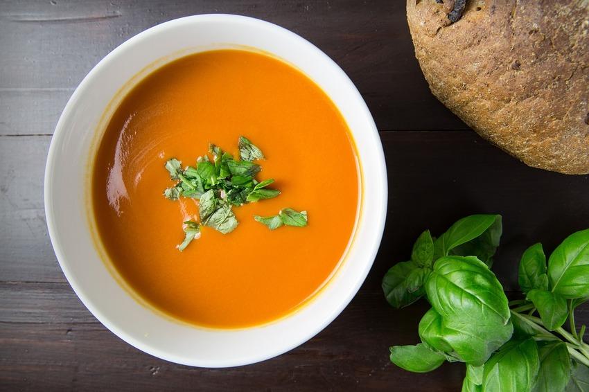 Eine Suppe aus dem Suppenbereiter Test
