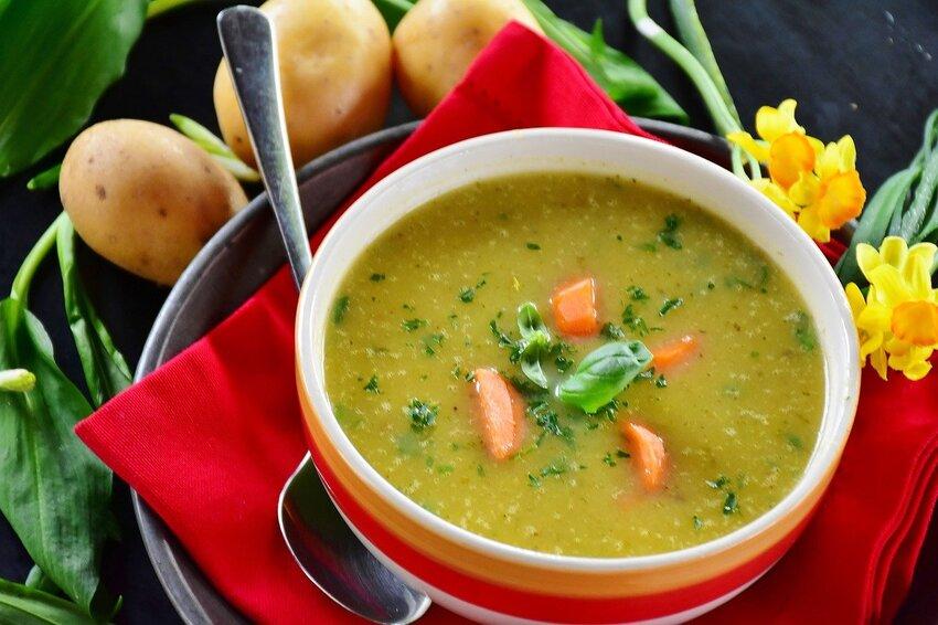 Eine leckere Suppe aus dem Suppenkocher