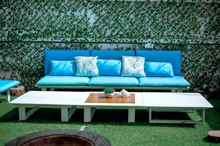 Ein Gartenmöbel Set im großem Test
