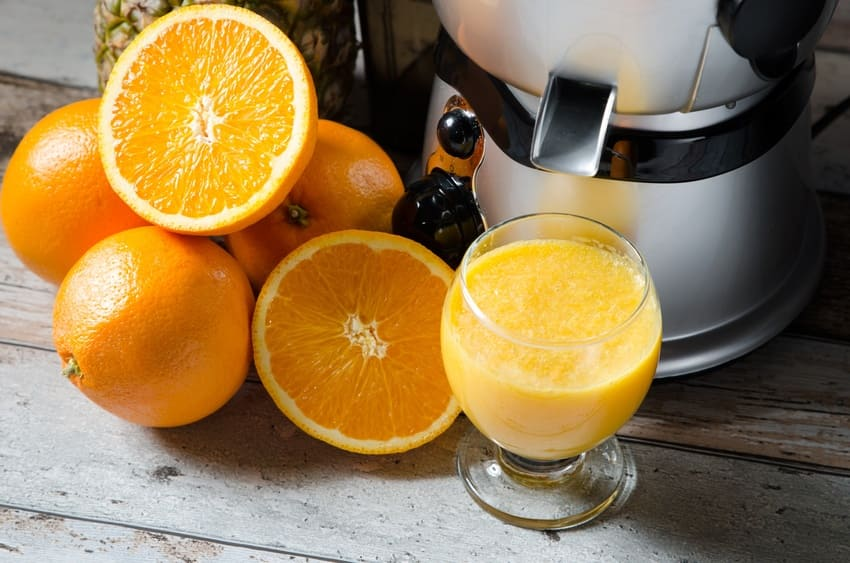 Die Orangenpresse im Überblick